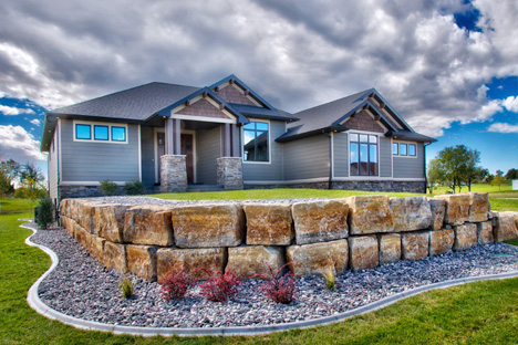 Our in-house design team can work to identify the unique characteristics of  your property and lifestyle and merge them into a customized plan featuring  ... - Retaining Wall Design Download, Billings Mt Landscape Boulders